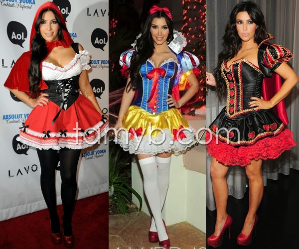 kim kardashian costume halloween