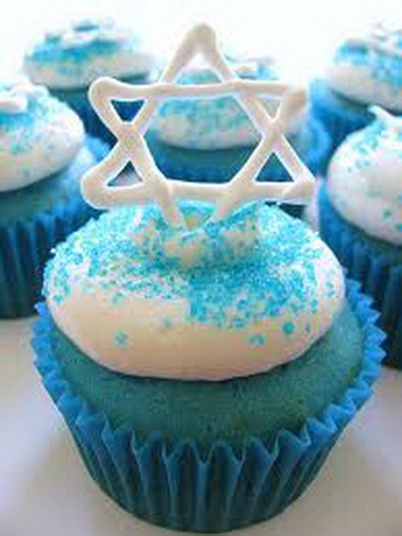 Cake Decorating Ideas Cupcakes : Hanukkah Cupcake Decoration Ideas : Let s Celebrate!