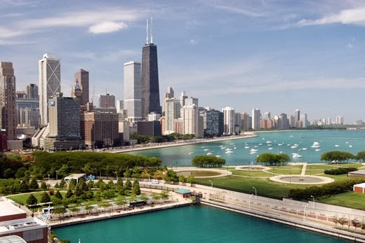 Chicago, USA 10 cities to visit in the year 2014