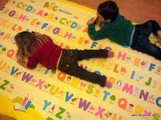 Toto Kidogo alphabet playmat