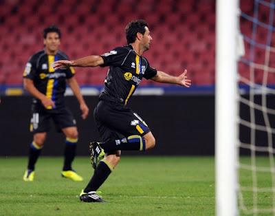 Napoli Parma 1-2 highlights sky