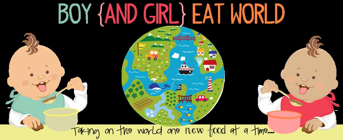 Boy {and girl} Eat World