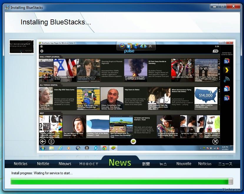 Hướng dẫn dùng BlueStacks Beta để chạy ứng dụng Android trên Windows