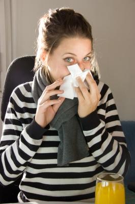 Frío y dolor de garganta