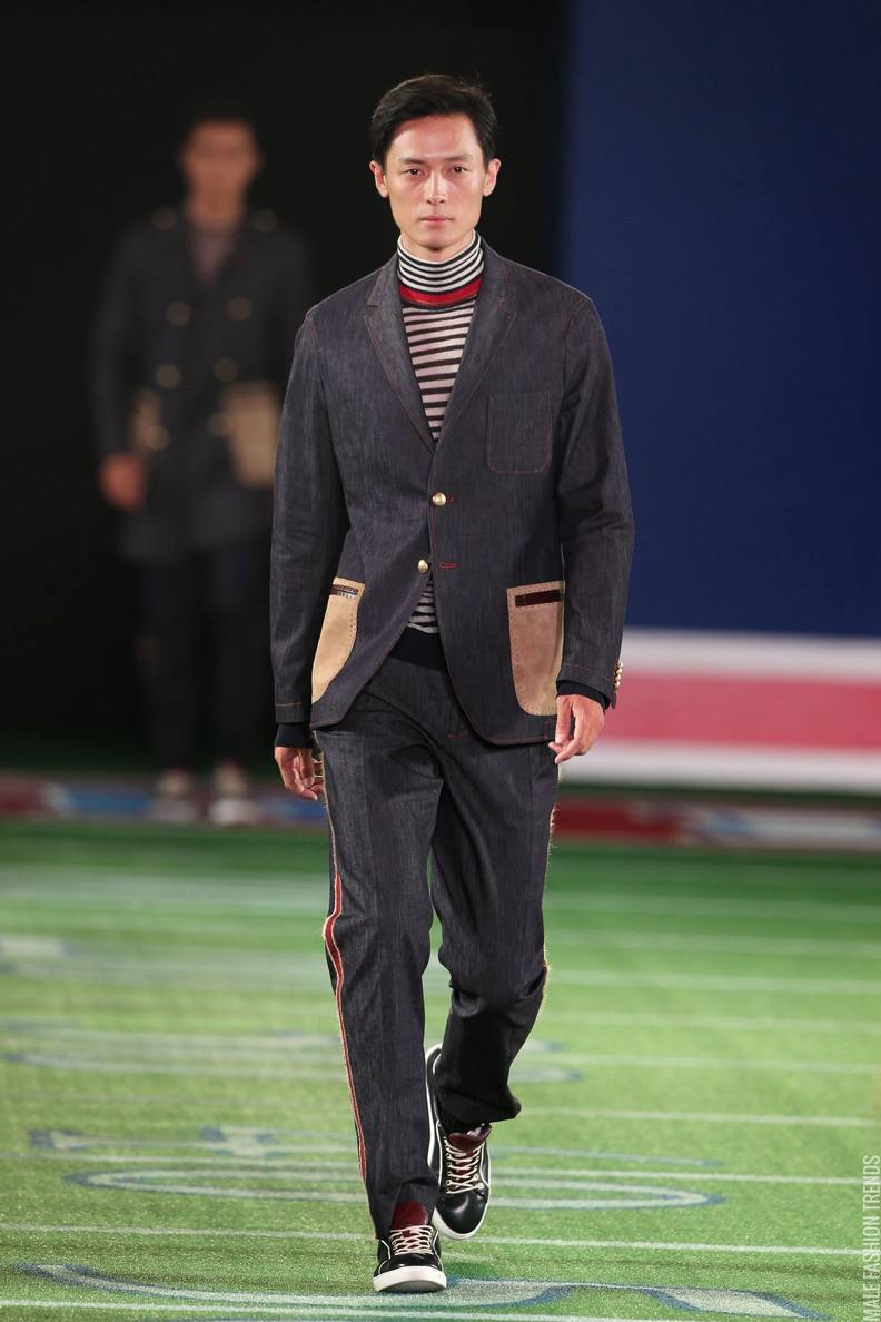 Tommy hilfiger fall winter 2015 shanghai fashion show male fashion trends - Tommy hilfiger show ...