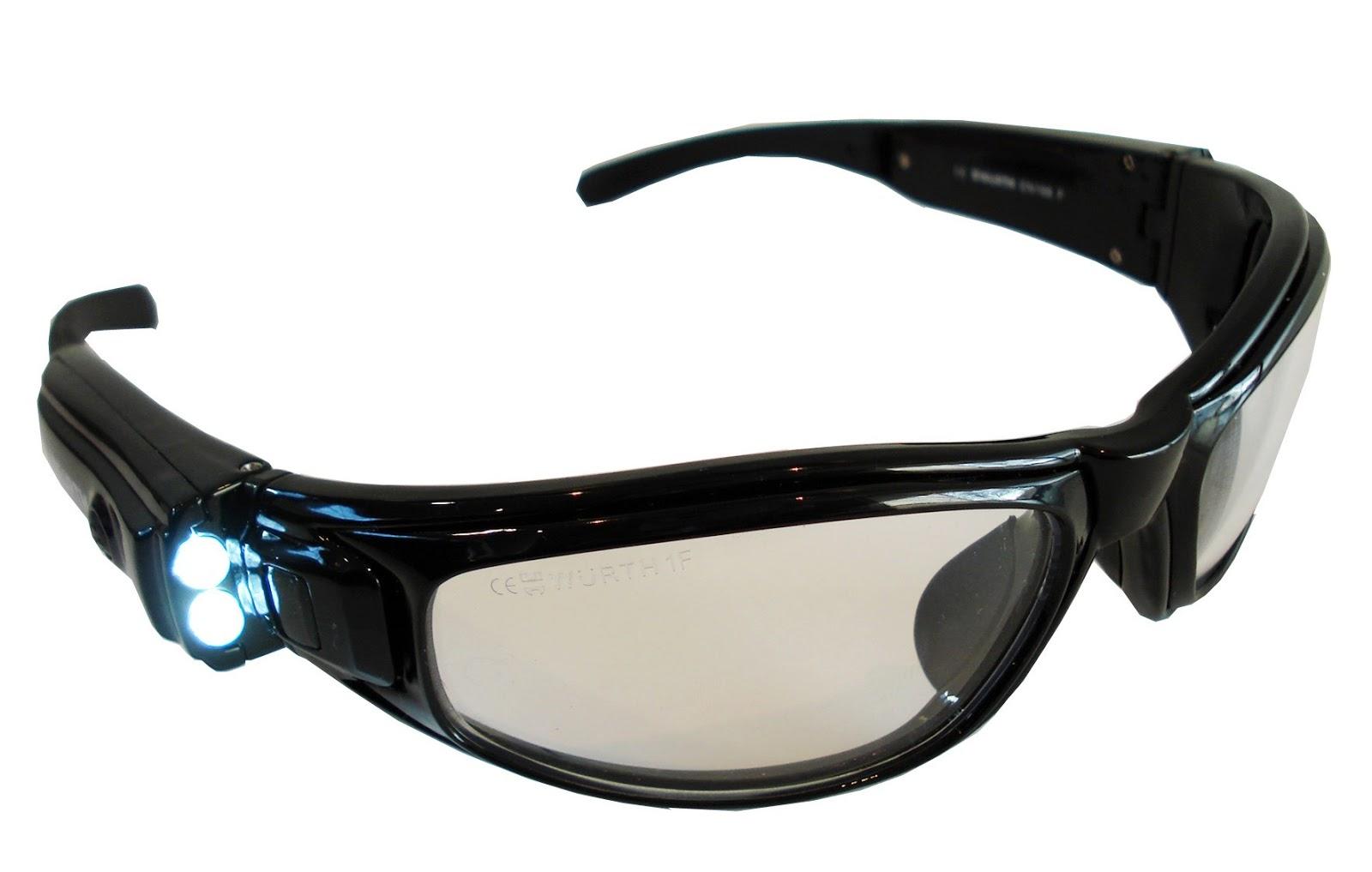 nekora en kayak gafas de protecci n con luz led