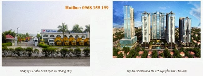Chung cư Golden land Nguyễn Trãi - Chung cư Golden Land & Tập đoàn Hoàng Huy