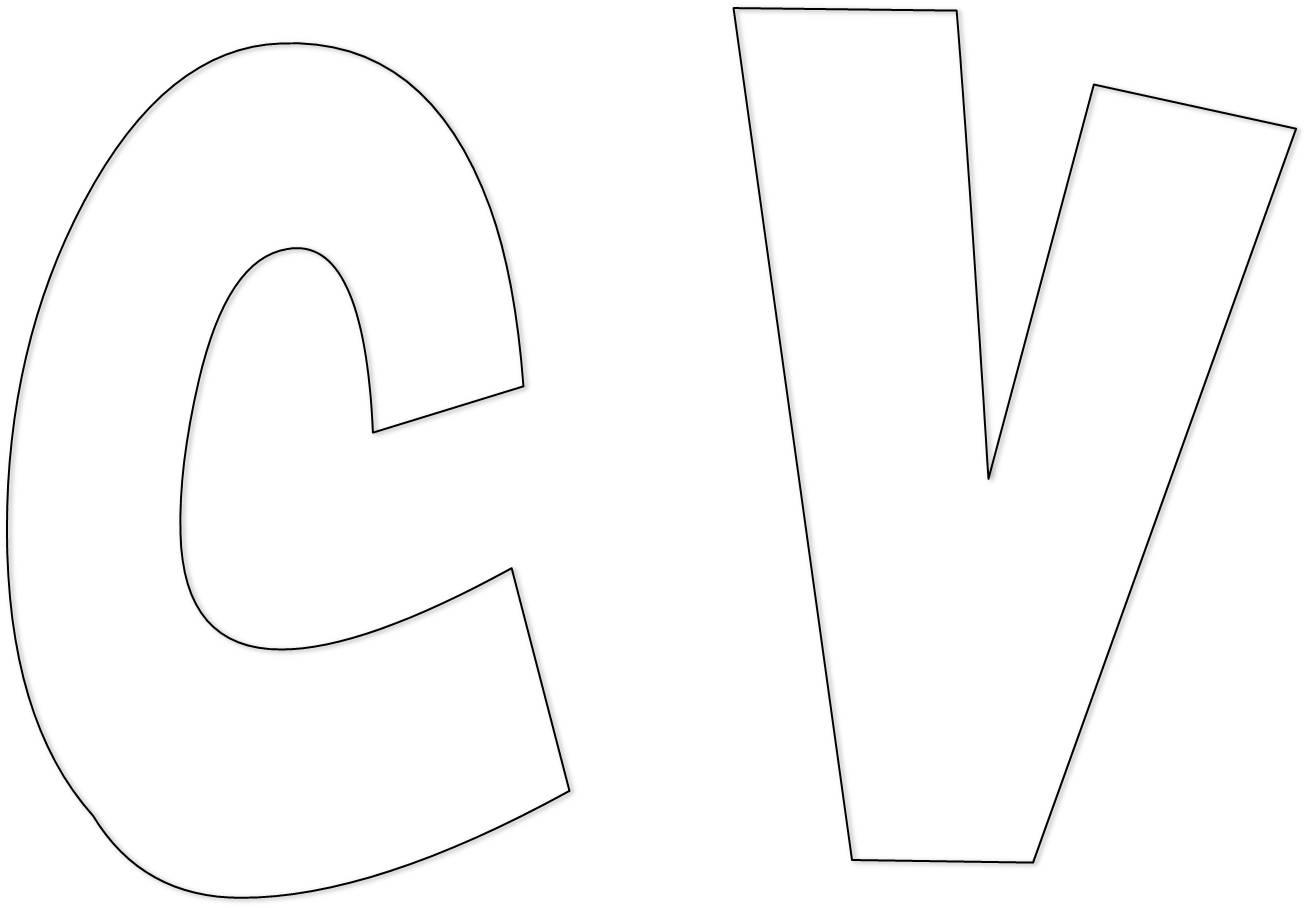 Compartiendo con mis amigas letras - Letras para letreros grandes ...