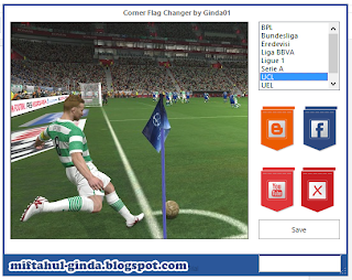 PES 2014 Corner Flag Changer by Ginda01