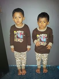 baju pyjamas spiderman