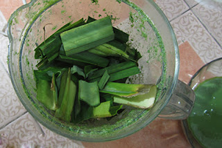 Jelly with Pandan Leaves and Milk Recipe (Thạch Lá Dứa với Sữa) 2