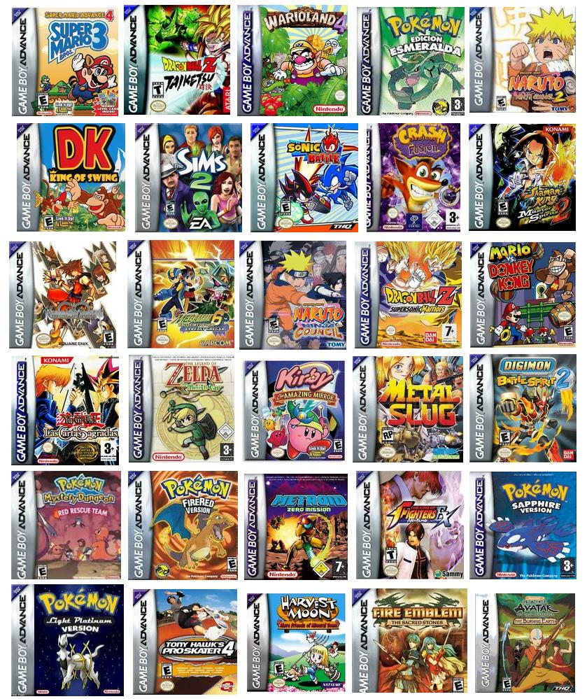 Gameboy Advance (GBA) ROMs 2019 - Download free