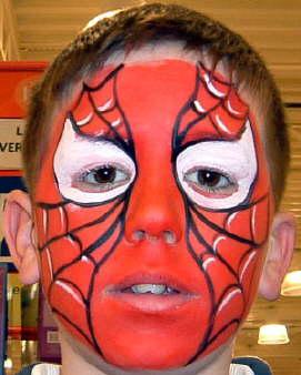 فنون فن الرسم على الوجه وجوه الأطفال كيفية ونصائح الرسم وبعض الرسومات على وجه الأطفال