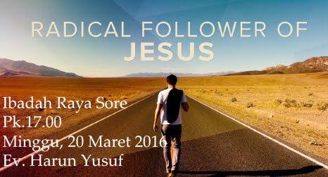 Ibadah Raya Sore 20 Maret 2016