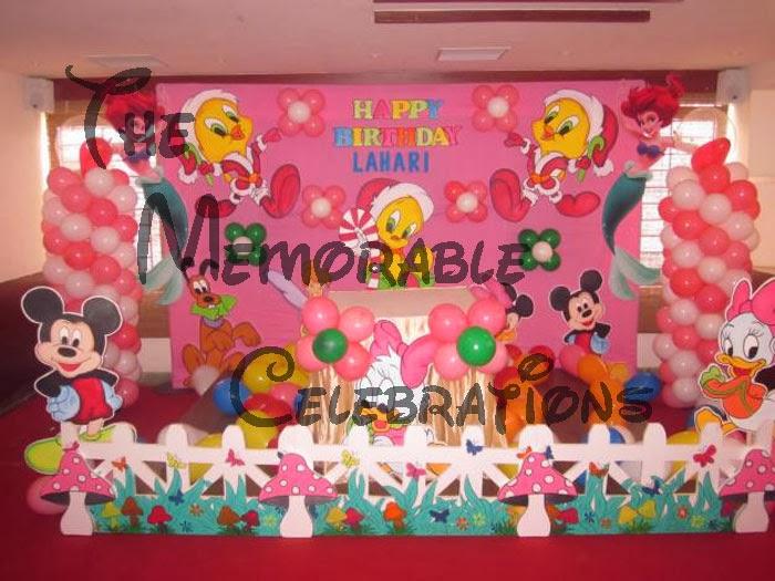 Balloon decorations hyd birthday party decorations in for Balloon decoration in hyderabad