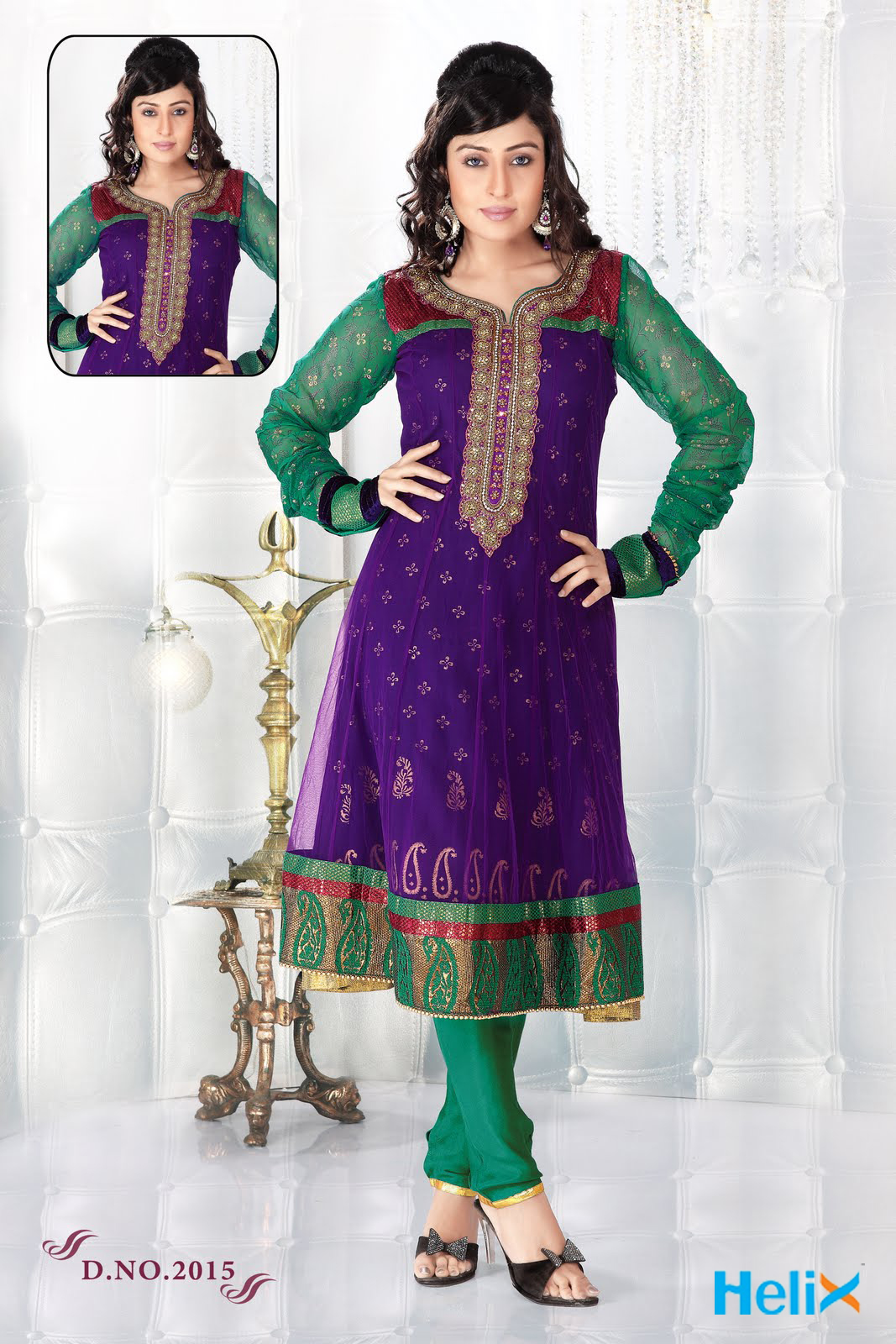 Ladies dress salwar kameez manufacturer wholesale designer border