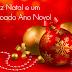 Feliz Natal e um abençoado Ano Novo!!!
