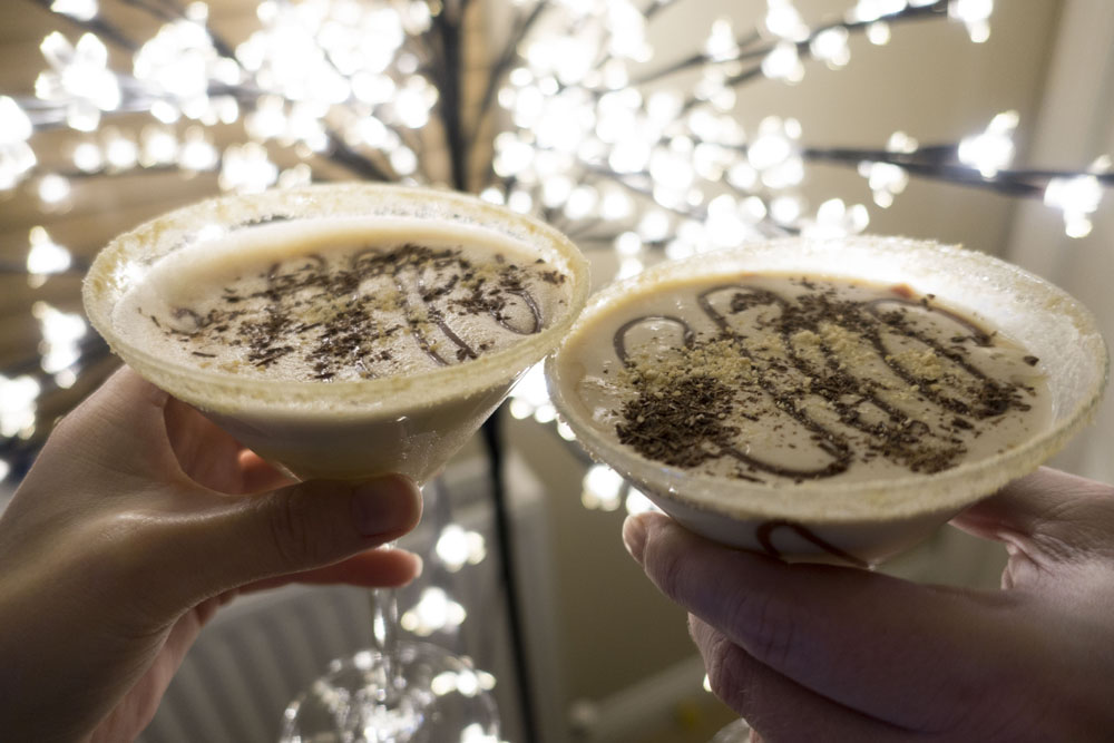 Salted Caramel Chocalatini | A Christmas Cocktail* | #aldifavouritethings