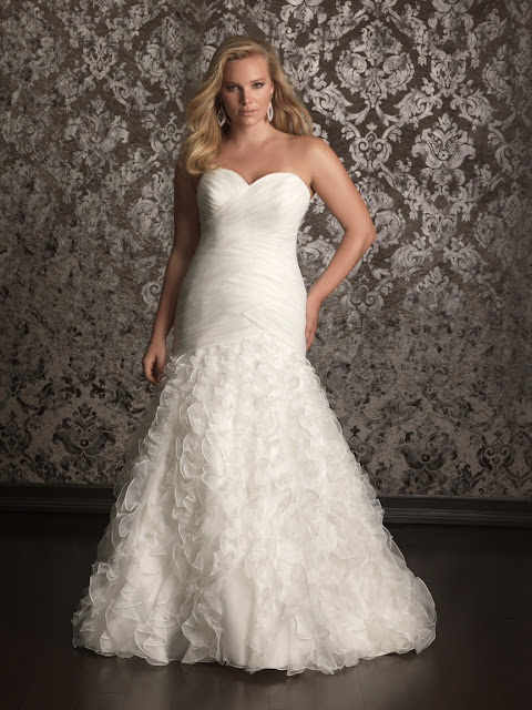 Allure Women Spring 2013 Plus Size Bridal Collection
