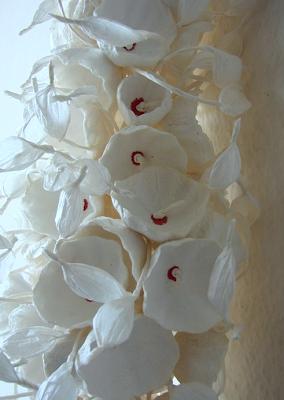 bouquet di carta a cascata , ecologico. Green wedding paper bouquet