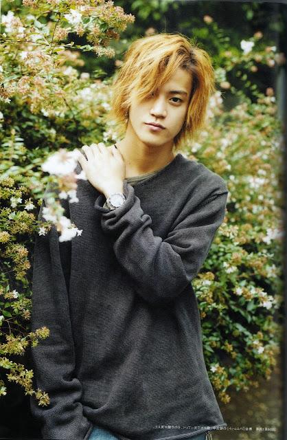 Foto Aktor Jepang Shun Oguri