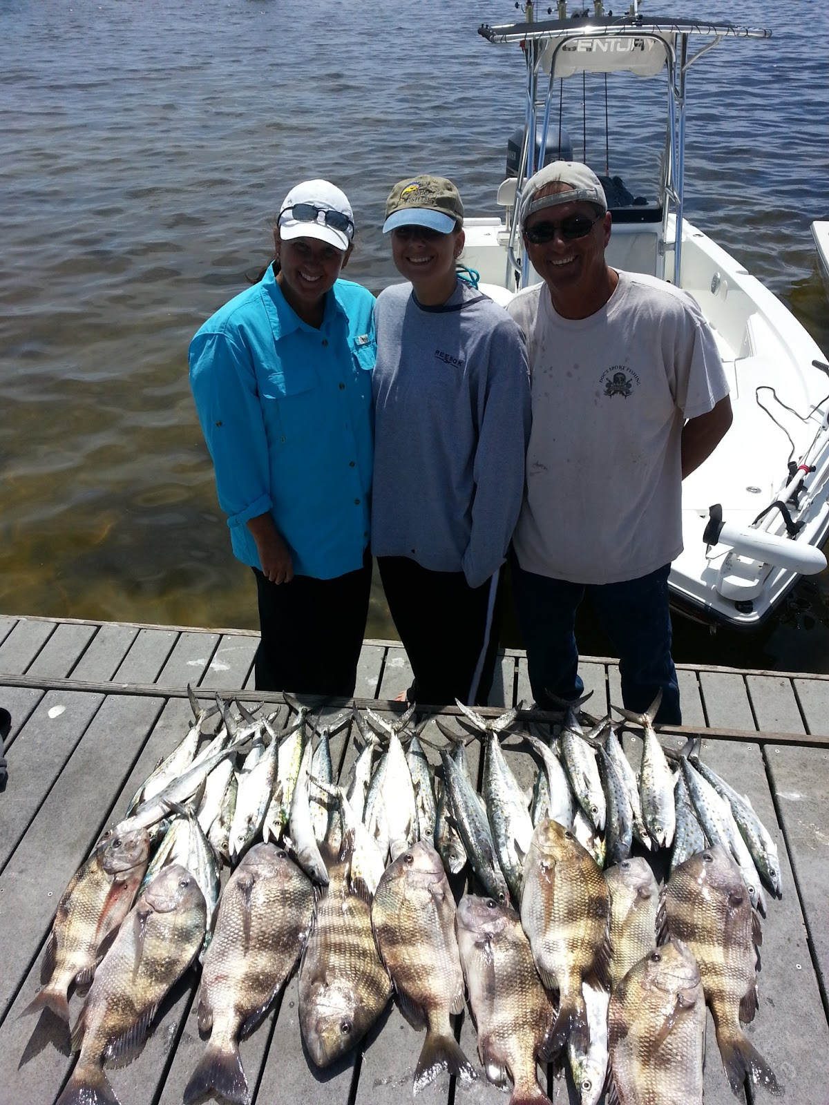 South again charters pensacola inshore guide 6 april for Fishing charters pensacola