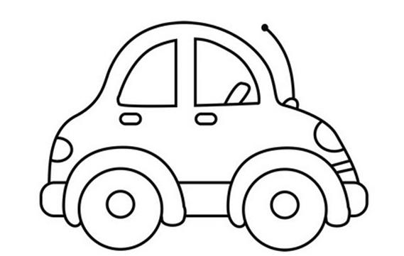Dibujo de auto escarabajo para colorear pintar e imprimir : Más