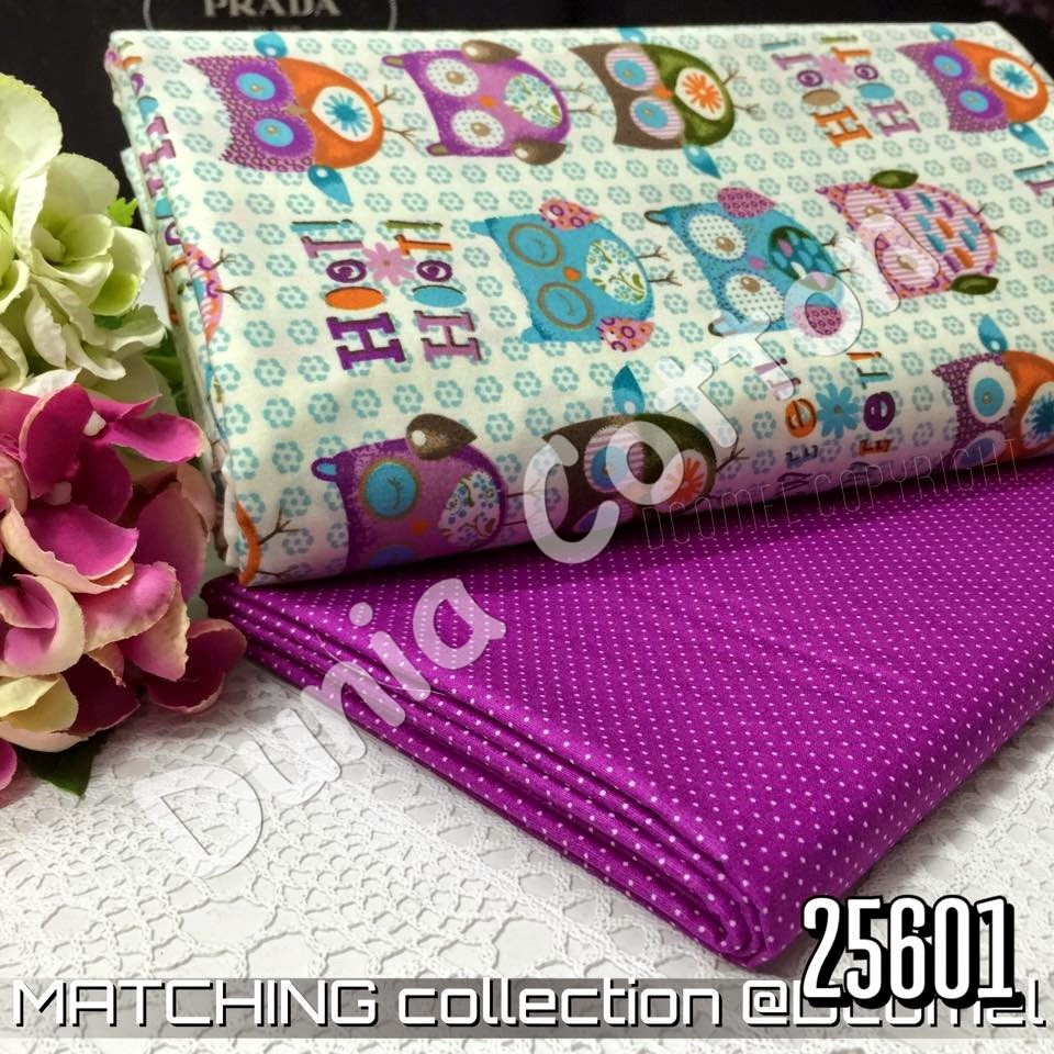 Kain English Cotton Gred AAA Matching Album 256