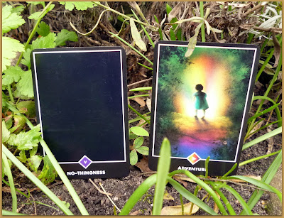 Osho Zen Tarot No-Thingness  Page of Rainbows Adventure