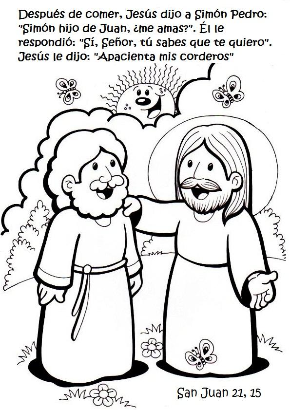 Moderno Jesús Y Discípulos Para Colorear Foto - Dibujos Para ...