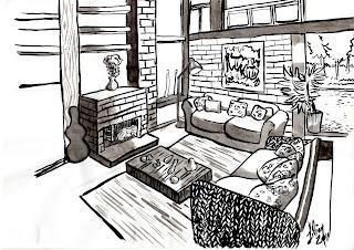 Desenhos Para Colori decoração Sala projeto desenhar