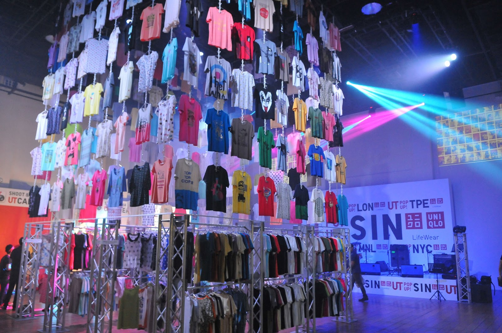 Uniqlo UT pop up shop: Giving a little something back to the Singapore  creative scene