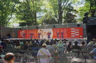 大國魂神社ステージ|よさこい府中