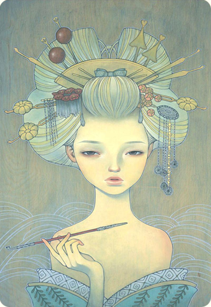 Doctor Ojiplático. Audrey Kawasaki. Ilustración | Illustration. Oiran