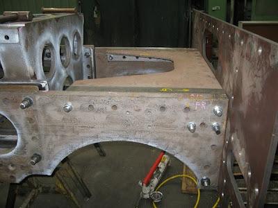 NG/G16 Engine Unit Frame Progress