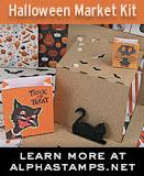 Alpha Stamps October Kit