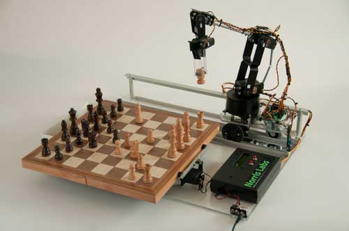 DIY Chess Playing Robotic Arm