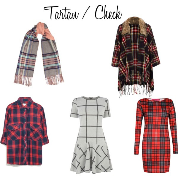 A/W 2014 tartan & check fashion trend