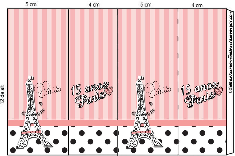 Paris 15 Anos - Kit Completo com molduras para convites ...