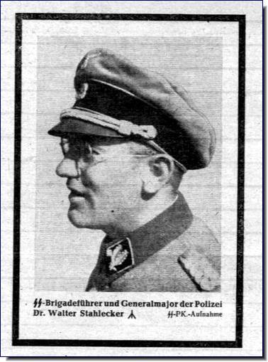 Franz Walter Stahlecker Einsatzgruppen Nazi exterminators