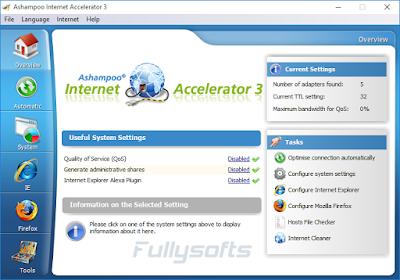 Download Ashampo Internet Accelerator 3.2.0.0 Incl. Keygen
