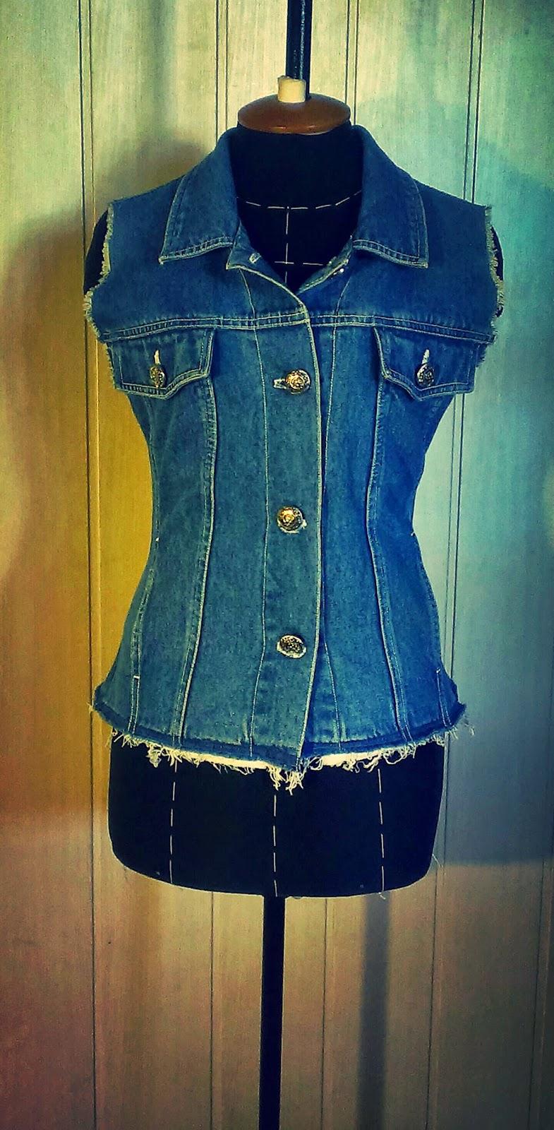 Как сшить джинсовую куртку для девочки самостоятельно? 48