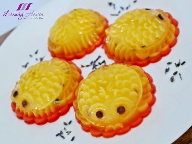chinese new year lavender mango pudding recipe