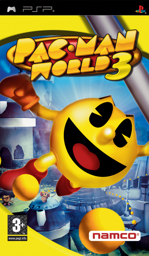pac man 3 game