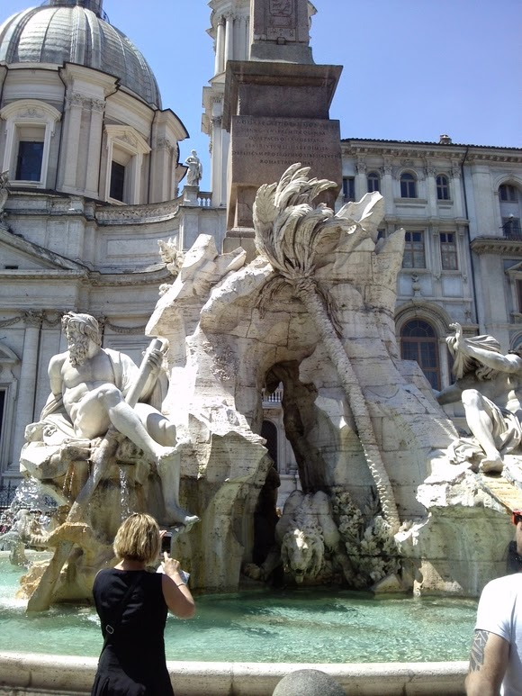 Fountain Of The Four Rivers Piazza Navona