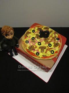 bolo de aniversário pizza bragança