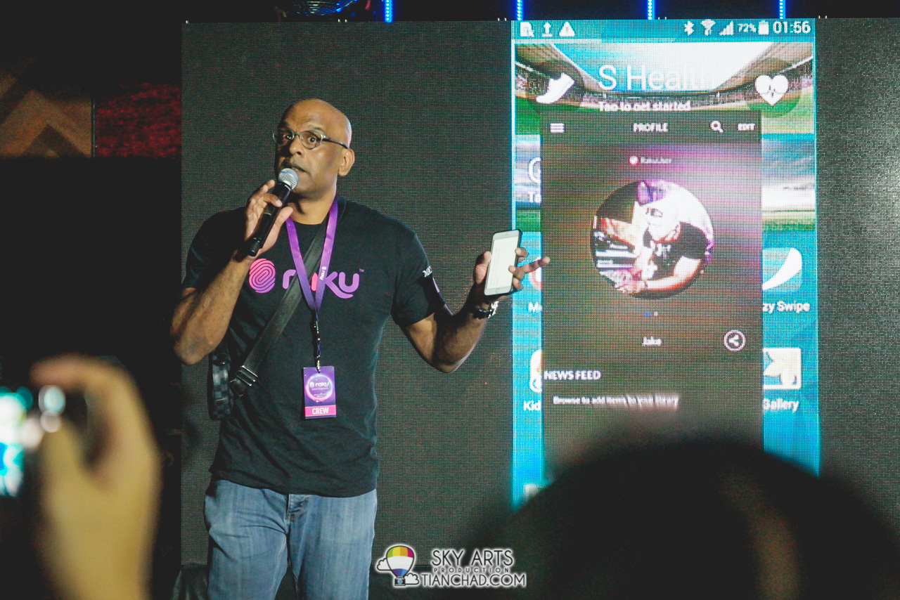 Jake Abdullah, Chief Executive Officer of Astro Radio @ RAKU Music Apps Launch