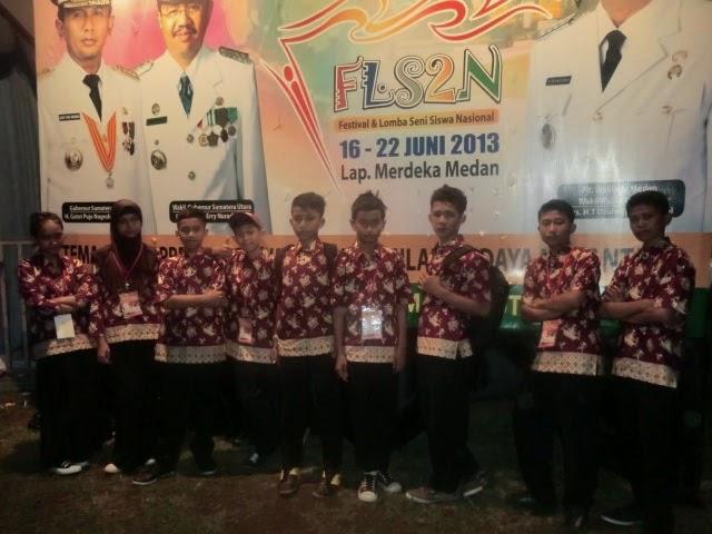 FLS2N TK. NASIONAL DI MEDAN 2013