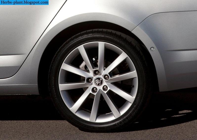 Skoda octavia car 2013 tyres/wheels - صور اطارات سيارة سكودا اوكتافيا 2013