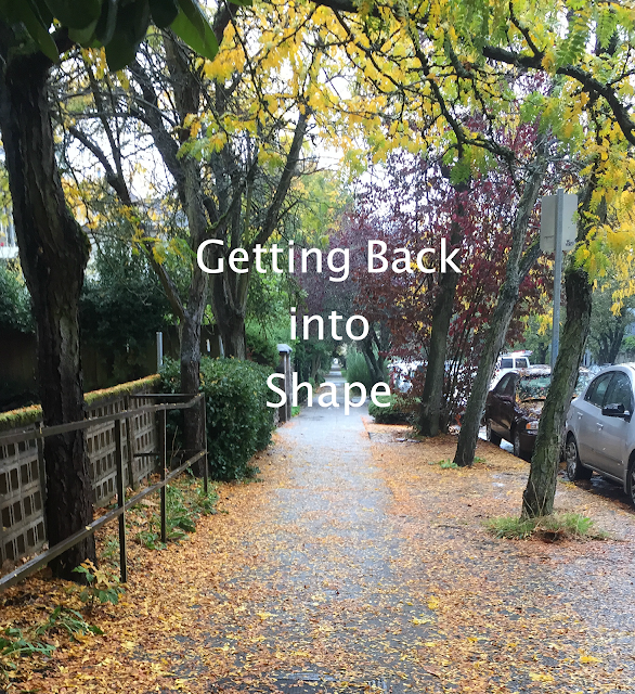 Getting back in to shape, running, outside, seattle, washington, fall, leaves, cars, sidewalk, run, get in shape, work of it, fence